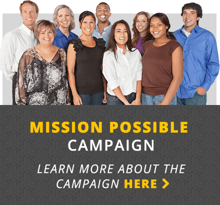 Mission Possible Campaign Learn more about the compain here